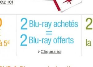 amazon .. offre blu ray