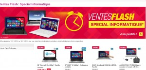 vente flash informatique pixmania
