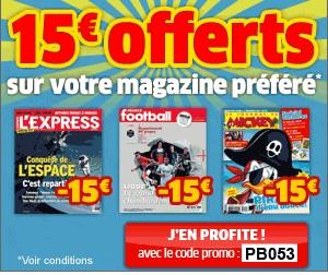 abonnements à des revues pas cher