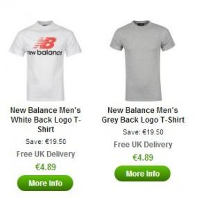 tee shirts new balance pas cher