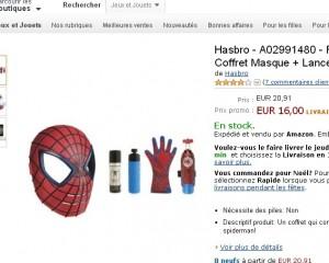 jouet spiderman