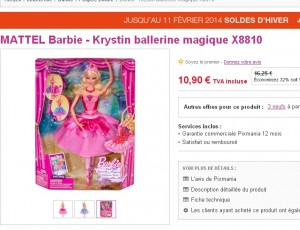 poupée barbie