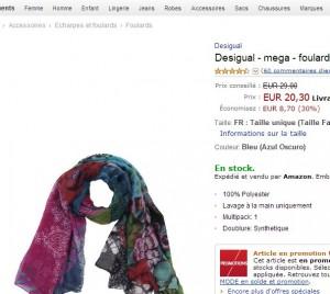 foulard desigual
