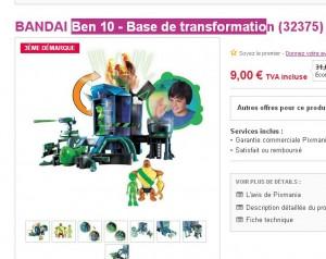 jouet ben 10