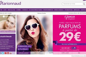 parfums chez marionnaud