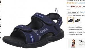 sandales kappa