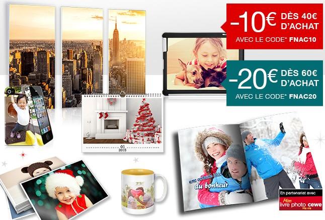 bon plan entre 10 et 20 euros de remises imm diates sur vos travaux photos fnac bons plans. Black Bedroom Furniture Sets. Home Design Ideas