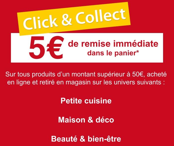 BON PLAN Darty Click & Collect = 5 Euros De Remises