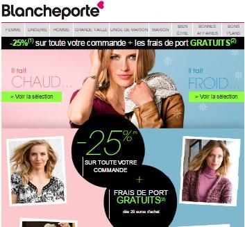 Code r duction blanche porte frais de port gratuit promo maes pils - Blanche porte code reduction ...