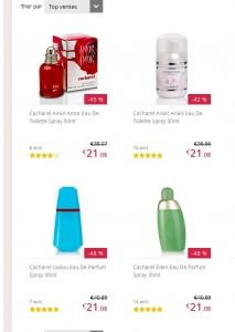Parfums cacharel pas chers moins de 18 euros port inclus - Frais de port gratuit parfum moins cher ...
