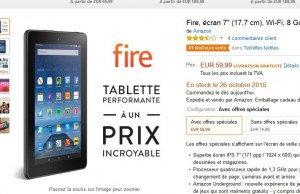 Bon Plan Tablette La Fire Amazon A Moins De 60 Euros Bons Plans Bonnes Affaires