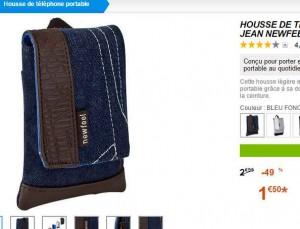 1 5 euros la housse de telephone portable bons plans bonnes affaires. Black Bedroom Furniture Sets. Home Design Ideas