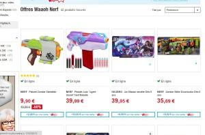 Jouets 25 pourcent sur des jouets nerf bons plans - Carte de fidelite auchan fr ...