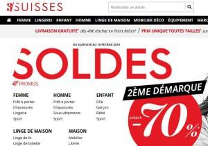 3 suisses la deuxieme demarque bons plans bonnes affaires - Soldes deuxieme demarque ...