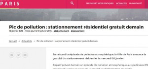 paris stationnement gratuit le 20 janvier bons plans. Black Bedroom Furniture Sets. Home Design Ideas