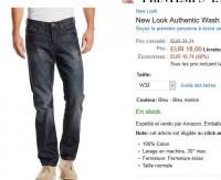 Bon prix jeans new look pour hommes à 18 euros