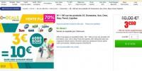 Bon plan lessive chez geant avec pour 3 euros un bon d'achat de 10 euros