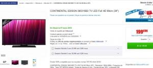 Tv 39 pouces moins de 200 euros pas ch re bons plans - Tv moins de euros ...