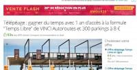 Badge telepeage Vinci 1 an à 6.4 euros (le 11/02 jusqu'à 14 heures)