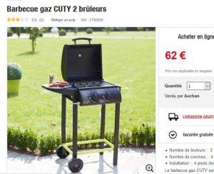 Barbecue Gaz Deux Bruleurs Pas Cher à 62 Bons Plans Bonnes Affaires