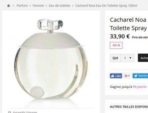 Parfum Pas Cher Cacharel Noa 100ml à 34 Bons Plans Bonnes Affaires