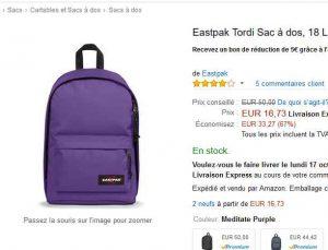Eastpak Pas Amazon Encore Cher Dos À Le Tordi Sac Un Chez 16 73 g4xWnRSR