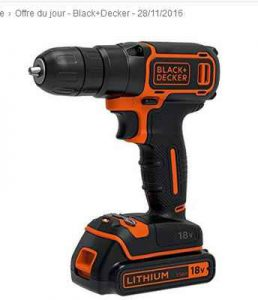 Perceuse black et decker 18v 44 bons plans bonnes affaires - Perceuse black et decker 18v ...