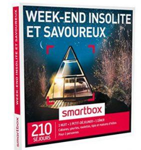 smartbox week end insolite bons plans bonnes. Black Bedroom Furniture Sets. Home Design Ideas