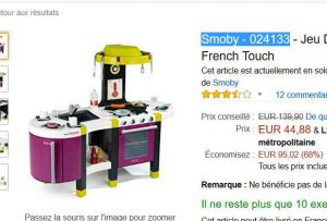Soldes Jouet 45 La Grande Cuisine Smoby Tefal French Touch Bons