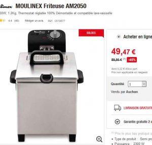 Friteuse semi pro moulinex moins de 50 bons plans bonnes affaires - Friteuse moulinex pro first ...