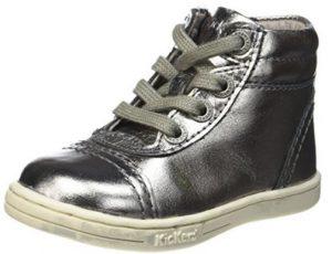 chaussures trailer kickers b b fille en cuir. Black Bedroom Furniture Sets. Home Design Ideas