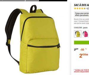 9af7560a7e Bonne affaire pour un sac à dos de 17 litres de la marque decathlon  (newfeel) …
