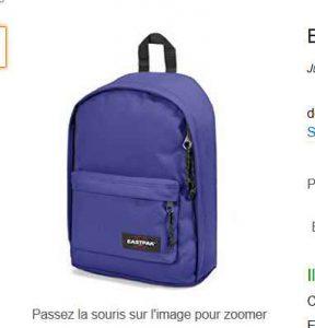 16.6€ le sac à dos eastpak de 18 litres Bons Plans Bonnes