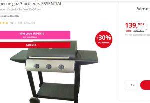 126 Le Barbecue Gaz 3 Bruleurs Bons Plans Bonnes Affaires
