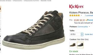 Kickers Cuir Chaussures 30 Pharacus Hommes En À UpdrFpAwqn