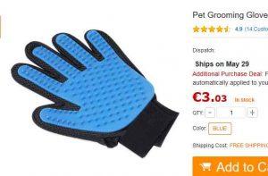 gants pour brosser les poils des chats 3 bons plans bonnes affaires bons plans bonnes. Black Bedroom Furniture Sets. Home Design Ideas