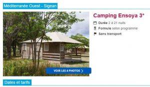 camping sigean
