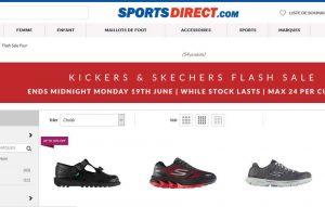 et chaussures jusqu'au Vente kickers skechers sur flash sportdirect tUxRqBHwO5