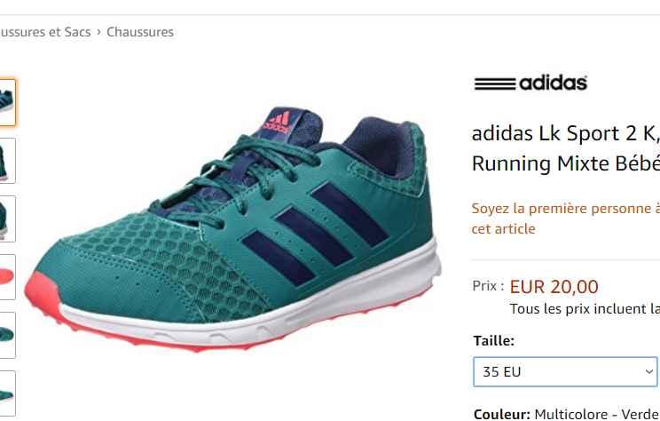 9c8d0b2206c55 Lk À Chaussures Sport Adidas 20 2 Enfants SppqEzwf - discriminate ...