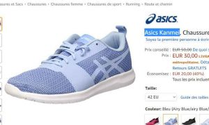 Kanmei Plan Chaussures Running FemmesLes 30€ Bons Bon À Asics 0PknOw