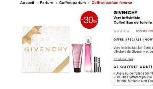 Coffret Parfum Very Irresistible Givenchy à 51 Bons Plans Bonnes