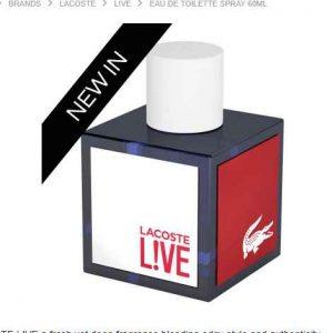 Parfum À 24 Live 95 Bon FdpBons 60ml Plan Plans 7€3 Lacoste Rc54S3qLAj