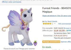 Vente rechercher le meilleur vente chaude Black Friday : Peluche Star Lilly à 59€ - Bons Plans Bonnes ...