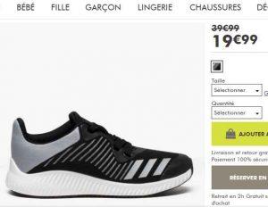 Bonnes 32Bons 28 19 Baskets Au EnfantsDu Plans 99€ Les Adidas rdtsxBoQhC