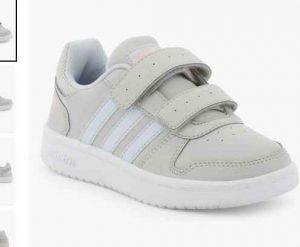 de9d657f262c9c Prix réduit dans les soldes La Halle pour une paire de chaussures de la  marque ADIDAS : 17.5€ Une paire de Adidas HOOPS LO dans les pointures 31 32  33 et 34