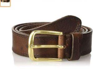 8977cb7720d7 Bonne affaire pour une ceinture cuir pour hommes de la marque Wrangler